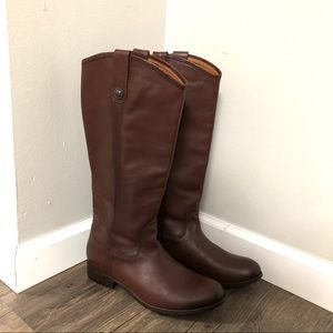 New-Frye Melissa button tall boots